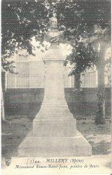 Monument à Simon Saint-Jean (Fondu) (Remplacé) – Millery