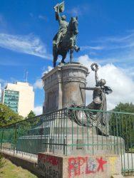 Statue du Général San Martin – Plaza San Martin – La Plata