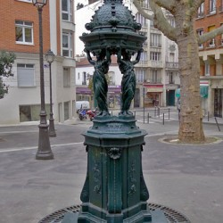 Fontaine Walace – Place Octave-Chanute – Paris (75020)