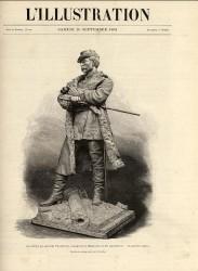 Monument au général Faidherbe (version 1891) – Bapaume (détruit) (remplacé)
