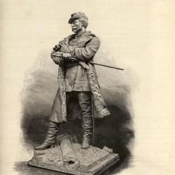 Monument au général Faidherbe (version 11874) – Bapaume (détruit) (remplacé)