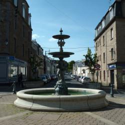 Fontaine – Place du Maréchal Leclerc – Saint-Servan-sur-Mer – Saint-Malo