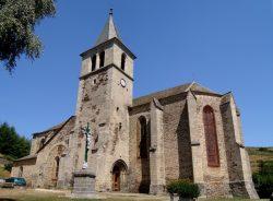 Christ en croix – Église Saint-Martin – Saint-Blaise – Chaudes-Aigues