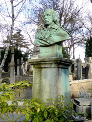 Monument à Pierre Lachambeaudie – Cimetière du Père Lachaise – Paris (75020)