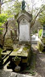 Sépulture de Pierre-Jean Garat – Cimetière du Père-Lachaise – Paris (75020)