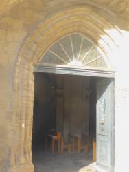Portes de l'église Saint-Baudile avec appliques – Noves