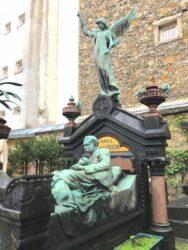 Monument de la famille Charles Pigeon – Cimetière de Montparnasse – Paris (75014)