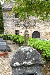 Croix funéraires – Cimetière de l'église Saint-Martin de Cas – Espinas