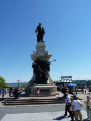 Monument à Samuel de Champlain – Québec