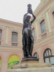 Statue lampadaire – Antiguo Palacio de Correos – Lima