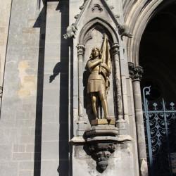 Satue Jeanne d'Arc – Eglise Saint-Loup – Châlons-en-Champagne