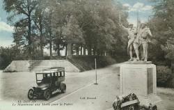 Monument aux morts de 14-18, ou Monument aux Dinanais morts pour la France, ou Hommage aux compagnons d'armes – Dinan