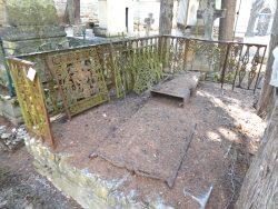 Sépulture de Célestine Roques-Carbonel – Cimetière de la ville – Cahors