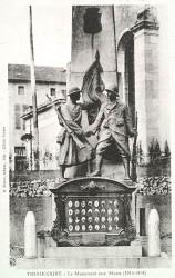 Monument aux morts de 14-18, ou Monuments aux Français et aux Américains – Thiaucourt