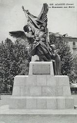 Monument aux morts de 14-18 – Ajaccio