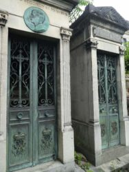 Médaillon de Paul Musurus – Cimetière du Père-Lachaise – Paris (75020)