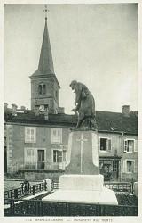 Monument aux morts de 14-18, ou Le Patrouilleur – Bains-les-Bains
