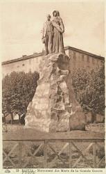 Monument aux morts de 14-18 – Place Saint-Nicolas – Bastia