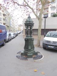 Fontaine Wallace – Boulevard Sérurier – Paris (75019)