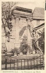 Monument aux morts de 14-18, ou L'Ame des ruines – Bretenoux