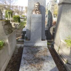 Tombe d'Edouard Colonne – Cimetière du Père-Lachaise – Paris (75020)