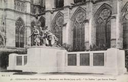 Monument aux morts de 14-18 – Châlons-en-Champagne