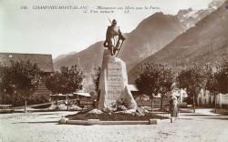 Monument aux morts de 14-18 – Chamonix