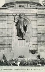 Monument aux morts de 14-18 – Châtellerault