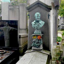 Buste d'Auguste Waser – Cimetière du Père Lachaise – Paris (75020)