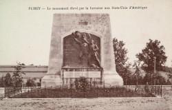 Monument aux morts de 14-18, ou La Lorraine aux Etats Unis – Flirey