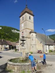 Vasque fontaine – Nans-sous-Sainte-Anne