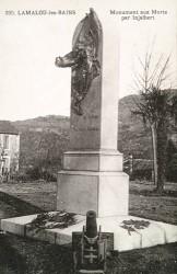 Monument aux morts de 14-18 – Lamalou-les-Bains