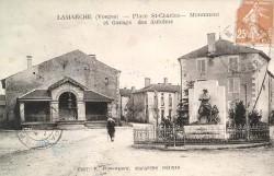 Monument aux morts de 14-18 – Lamarche
