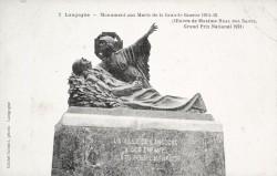 Monument aux morts de 14-18 – Langogne