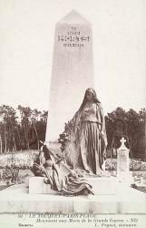 Monument aux morts de 14-18 – Boulevard de la Canche – Le Touquet