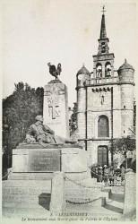 Monument aux morts de 14-18 – Rue de la Libération – Lézardrieux