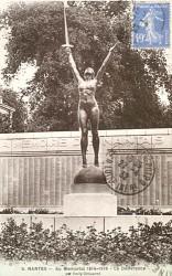 Monument aux morts de 14-18, ou La Délivrance, Le Mémorial – Square de la Délivrance – Nantes
