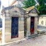 Portes de chapelles sépulcrales et corbeille - Division 55 - Cimetière du Père Lachaise - Paris (75020) - Image11