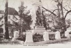 Monument aux morts de 14-18 – Ornans
