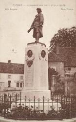 Monument aux morts de 14-18, ou La Résistance – Pierre-de-Bresse