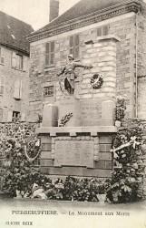 Monument aux morts de 14-18 – Pierre-Buffière