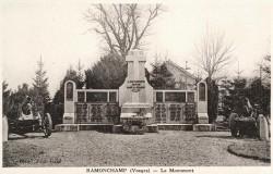 Monument aux morts de 14-18 – Ramonchamp