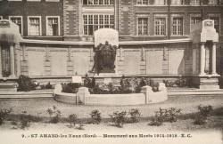Monument aux morts de 14-18 – Saint-Amand-les-Eaux