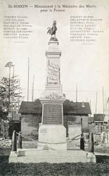 Monument aux morts de 14-18 – Saint-Simon