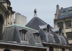 Statue de pélican – Église Saint-Sulpice – Paris (75006)