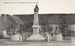 Monument aux morts de 14-18 – Vindecy