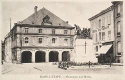 Monument aux morts de 14-18 – Raon-l'Étape