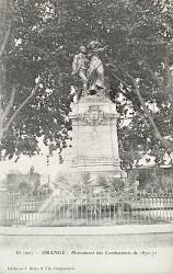 Monument aux morts de 1870 – Orange