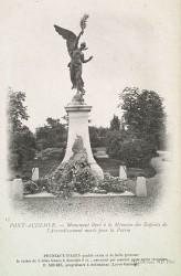 Monument aux morts de 1870, ou Monument du Souvenir français, ou Le Génie de la Paix – Pont-Audemer