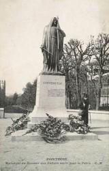 Monument aux morts de 1870, ou Monument du Souvenir français – Pontoise (fondu)